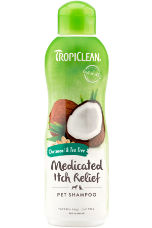 Tropiclean Medicated Itch Relief šampón