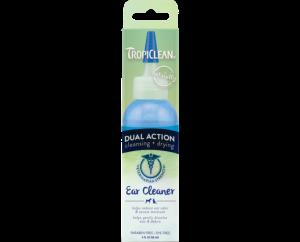 TROPICLEAN DUAL ACTION EAR CLEANER - kapky na čištění uší