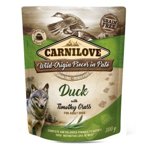 Carnilove Duck with Timothy Grass 300 g