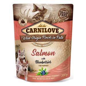 Carnilove Puppy Salmon with Blueberries 300 g