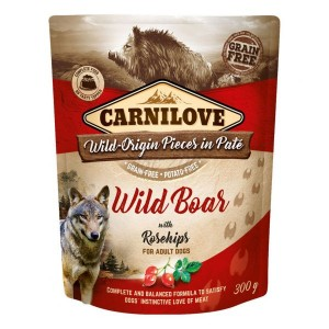 Carnilove Wild Boar with Rosehips 300 g