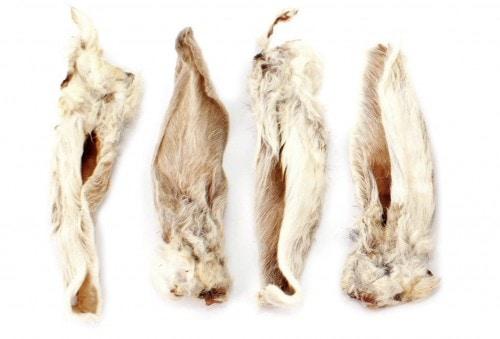 Terra Natura sušené zajačie uši chlpaté