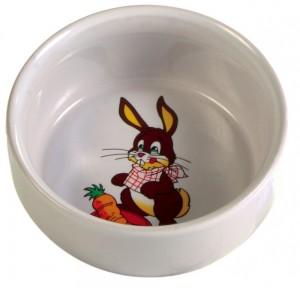 Keramická miska pre králika s obrázkom 250 ml / 11 cm