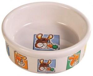 Keramická miska motív králik 240 ml / ø 11 cm