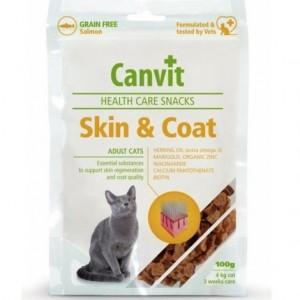 Canvit cat snack Skin and Coat