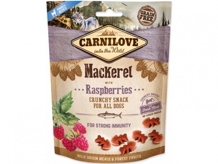 CARNILOVE Snack makrela/maliny 200g