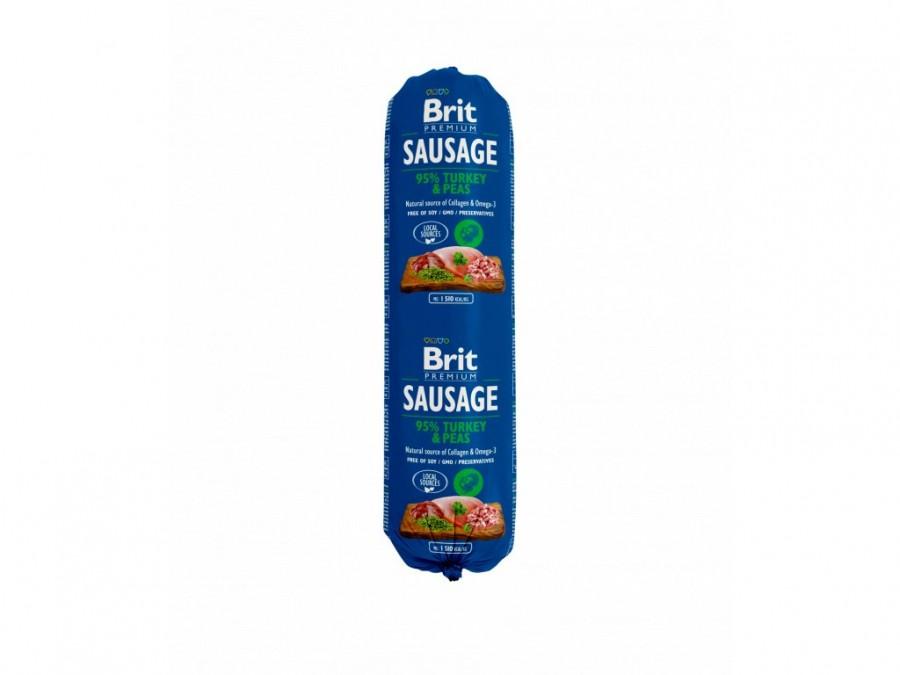 Brit saláma morka a hrások