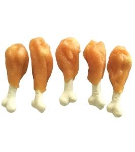 Huhubamboo kalciové kosti s kuracím mäsom