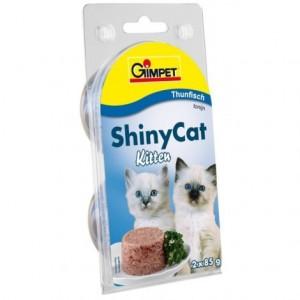 Konz.SHINY CAT junior tuniak 2x70g