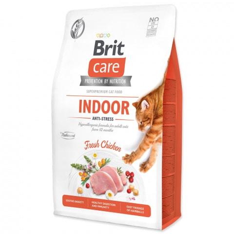 Brit Care Cat Indoor Antistress Kura 2kg