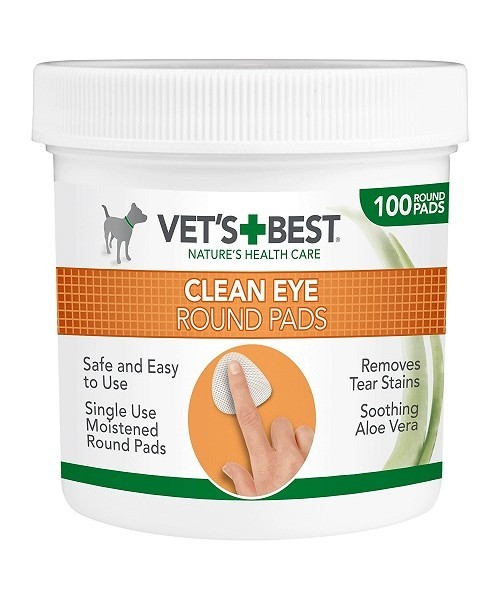 Vet´s Best čistiace utierky na oči 100ks