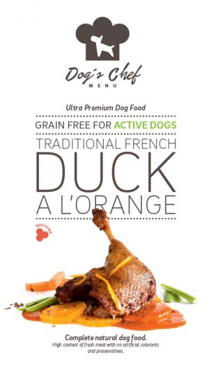 Traditional French Duck a l'Orange Active Dogs