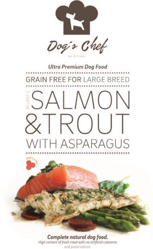 Atlantic Salmon & Trout with Asparagus Large Breed