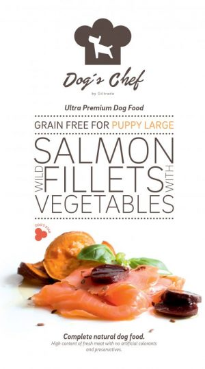 Wild Salmon fillets with Vegetables