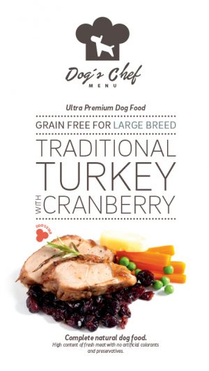 Traditional Turkey with Cranberry Large Breed