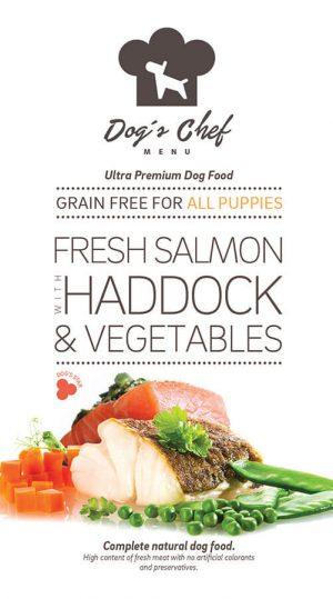 Fresh Salmon with Haddock & Vegetables