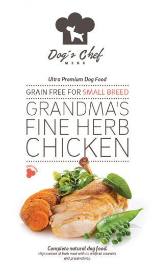 Grandma's Fine Herb Chicken Small Breed