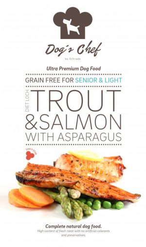 Diet Loch Trout & Salmon with Asparagus