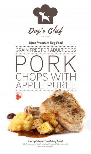 Pork Chops with Apple Puree
