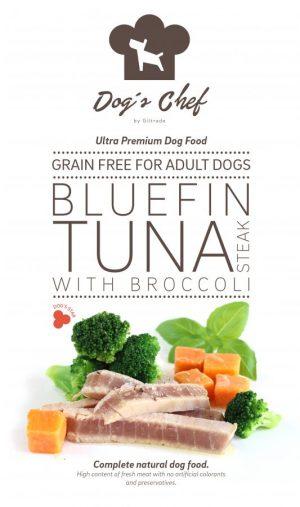 Bluefin Tuna steak with Broccoli