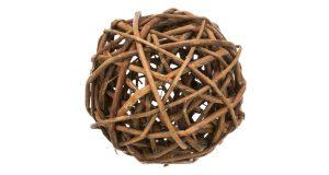 TRIXIE prútená lopta pre morčatá, 10cm